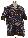 Mens Ethnic Style Hippie Shirt
