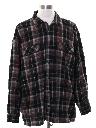 Mens Wool Blend Flannel Board Shirt