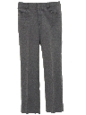 Mens Flared Mod Western Style Leisure Pants