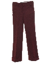 Mens Knit Bellbottom Disco Style Pants