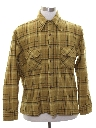 Mens Mod Wool Flannel Board Shirt