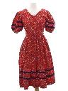 Womens Pioneer Style Hippie Dress
