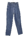 Womens Highwaisted Totally 80s Rockies Denim Jeans Pants