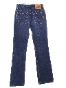 Womens Levis 517 Straight Leg Denim Jeans Pants