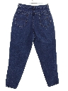 Womens Chic Highwaisted Totally 80s Denim Jeans Pants