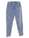 Womens Highwaisted Totally 80s Denim Jeans Pants
