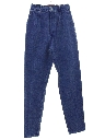 Womens Super Highwaisted Totally 80s Denim Jeans Pants