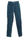 Womens Highwaisted Totally 80s Denim Jeans Pants
