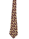 Mens Wide Swing Abstract Geometric Necktie
