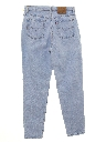 Womens Highwaisted Levis 521 Tapered Leg Fit Denim Mom Jeans Pants