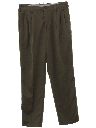 Mens Totally 80s Designer Pleated Pants