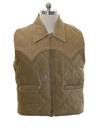 Mens Western Style Corduroy Vest
