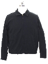 Mens Zip Gas Station Style Work Jacket