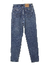 Womens High Waisted Levis 521 Tapered Leg Tapered Fit Denim Mom Jeans Pants