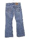 Unisex Grunge Levis 507 Bootcut Flared Denim Jeans Pants