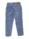 Womens High Waisted Levis 550 Relaxed Tapered Leg Denim Mom Jeans Pants