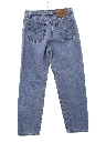 Womens High Waisted Levis 560 Loose Fit Straight Leg Denim Mom Jeans Pants
