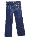 Womens Designer Sergio Valente Totally 80s Denim Jeans Pants