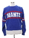 Mens Totally 80s Intarsia Giants Sweater