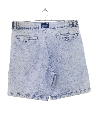 Mens Wicked 90s Acid Washed Denim Shorts