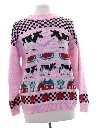 Womens Totally 80s Cheesy Ugly Sweater