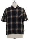Mens Wicked 90s Flannel Sport Shirt