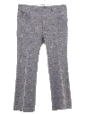 Mens Plaid Flared Leisure Pants