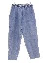 Womens Elastic Waist Grandma Jeans Pants