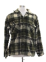 Mens CPO Flannel Shirt Jacket