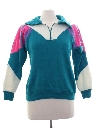 Womens Totally 80s Style Track Jacket