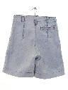 Womens Wicked 90s Acid Washed High Waisted Denim Shorts
