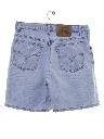 Womens Levis 950 High Waisted Denim Mom Shorts