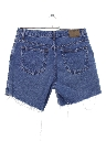 Womens Wicked 90s High Waisted Cut Off Denim Mom Shorts