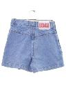 Womens Bongo Wicked 90s Denim Skort Shorts