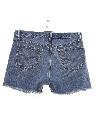 Unisex Denim Cut Off Shorts