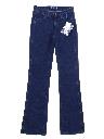 Womens Boot cut Denim Western Jeans Pants