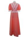 Womens Hippie Style Prairie Dress