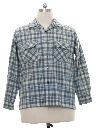 Mens Wool Flannel Board Shirt