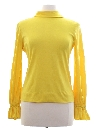 Womens Mod Stretch Knit Shirt