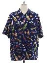 Mens Rayon Big Dog Hawaiian Shirt