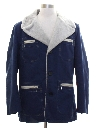 Mens Mod Car Coat Style Jacket