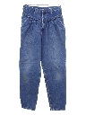 Womens Totally 80s Highwaisted Denim Jeans Pants