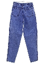 Womens High Waisted Denim Mom Jeans Pants