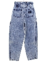 Womens Jordache Totally 80s Highwaisted Acid Wash Jeans Pants
