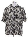 Mens Rayon Hawaiian Style Shirt