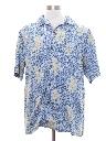 Mens Silk Hawaiian Style Shirt