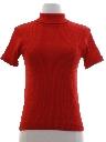 Womens or Girls Mod Knit Shirt