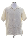 Mens Hippie Guayabera Inspired Shirt