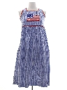 Womens Patriotic Picnic Dress