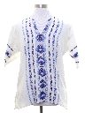 Mens Guatemalan Style Hippie Shirt